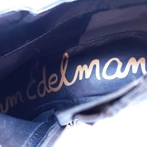 Sam Edelman Shoes - Sam Edelman Suede Leather Ankle Bootie Petty 9